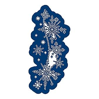 Tattered Lace Shimmering Snowflakes Die Set