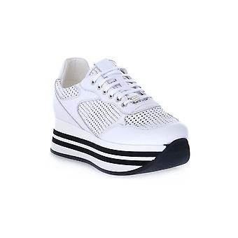 Frau tassel white sport shoes