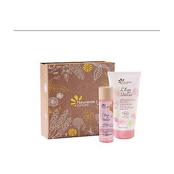 Jasmine rose box: 50ml perfume water + 200ml shower gel 1 unit