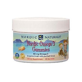 Nordic Naturals Nordic Omega-3, 60 Gummies