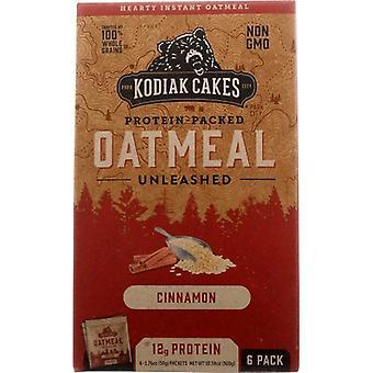 Kodiak Oatmeal Cinnamon, Case of 6 X 10.58 Oz