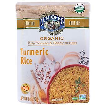 Lundberg Rice Tumeric Org, Case of 6 X 8 Oz