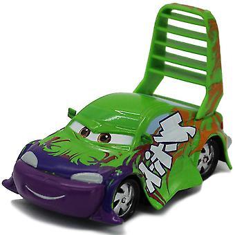 Coches de carreras de coches aleación simulación escalera verde conductor niños modelo juguetes