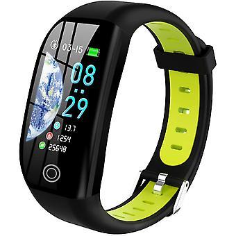 Chronus Smartwatch Kobiety Mężczyzna Dziecko IP68 Wodoodporny inteligentny pasek na rękę kolorowy ekran Smartwatch z kardio krokomierzem Powiadomienia o alarmie snu dla iPhone Huawei Samsung Xiaomi Sony (Zielony)
