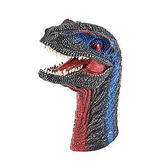 Dinosaurus hand marionet rubber Dino Raptor hoofd speelgoed partij Halloween decor geschenken| Marionetten