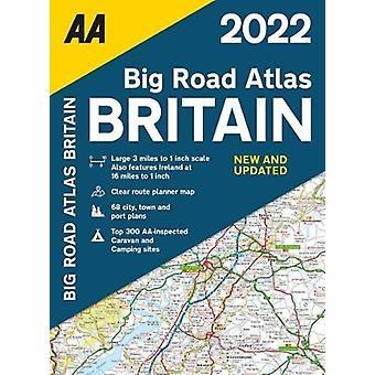 Big Road Atlas Marea Britanie 2022