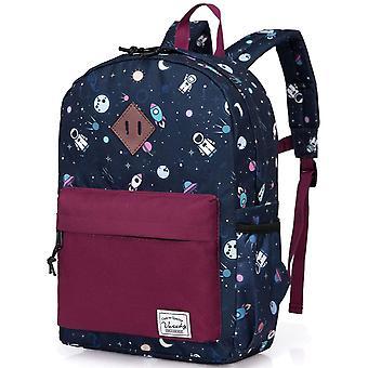 Kinder Rucksack Jungen Schultasche Süße kleine Buchtasche für Kinder mit Brustgurt und Seitentasche