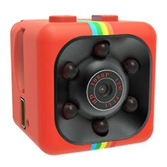 (Red) Mini Hidden DVR Spy Camera HD 1080P Night vision IP Home Security Wireless