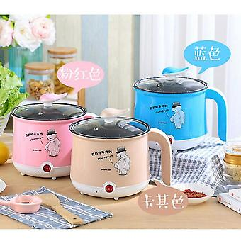 220V mini multifunction electric cooking machine single/double layer available hot pot multi electric rice cooker non-stick pan