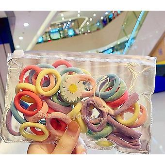 Colorful Spiral Hair Ties Telephone Wire Line