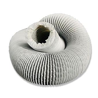 Manguera de ventilación PVC 10 metros Plata