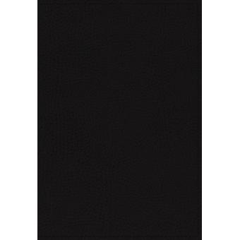 NKJV Study Bible Premium Bonded Leather Black Thumb Indexed Comfort Print by Thomas Nelson