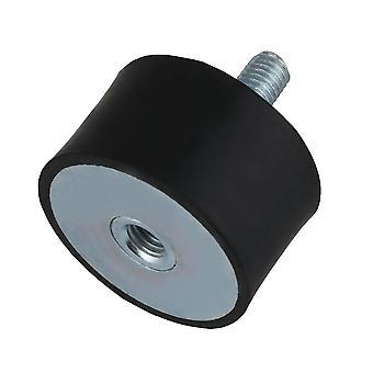 ナットボルトvd型防振ゴムは、ショックダンパーm10 50pcs 30mmブラックをマウント