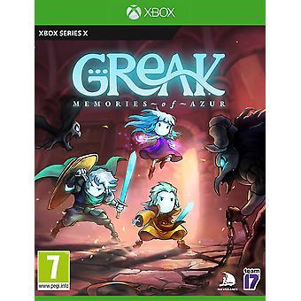 Greak Memories of Azur Xbox Series X Game