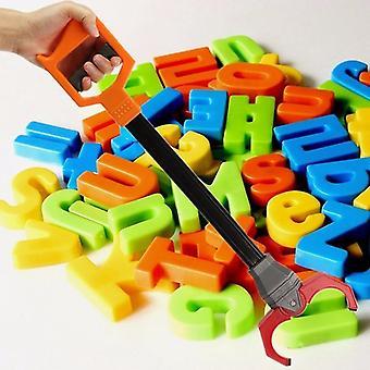 Koulutusohjelmisto muovi retro robotti käsi robotti poimia nipistys työkalu lelu