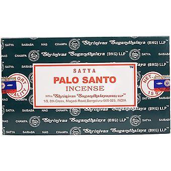Satya Palo Santo Incense Sticks (Pack of 12)