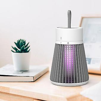 Led Mosquito Repellent Light Electric Shock Type Household Silent Mosquito Repellent Light-gray