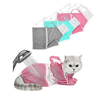 Cat Bathing Bag Cat Grooming Kittens Bag Shower Net package Restraint Pack
