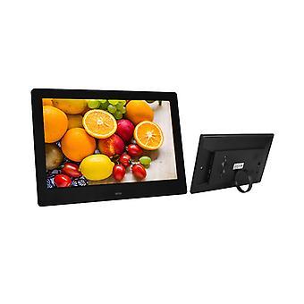 Digital Picture Frame  Jscsm Jsc10.1  10 Inch With Motion Sensor For Shelf Advertising(black)