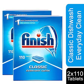 Finish 110 Classic PowerBall Calgonit Dishwasher Tablets, Pack of 2