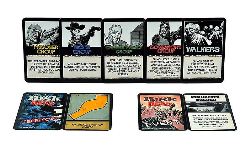 The Walking Dead Risk Survival Edition