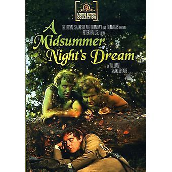 Midsummer Night's Dream (1969) [DVD] USA import