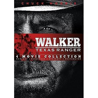 Walker Texas Ranger: Vier Film-Coll: Warzone & [DVD] USA importieren