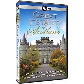 Great Estates of Scotland [DVD] USA import