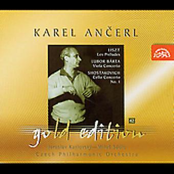 Liszt/Barta/Shostakovich - Liszt: Les Pr Ludes; Lubor B Rta: Viola Concerto; Shostakovich: Cello Concerto No. 1 [CD] USA import