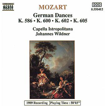 W.a. Mozart - Mozart: German Dances [CD] USA import