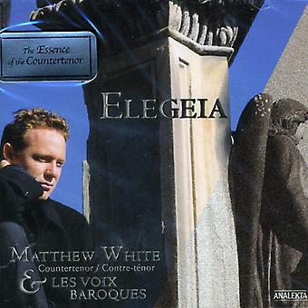 Matthew White - Elegeia [CD] USA import