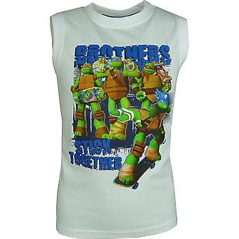 Jongens Nickelodeon Ninja Turtles mouwloos T-shirt / Top Vest
