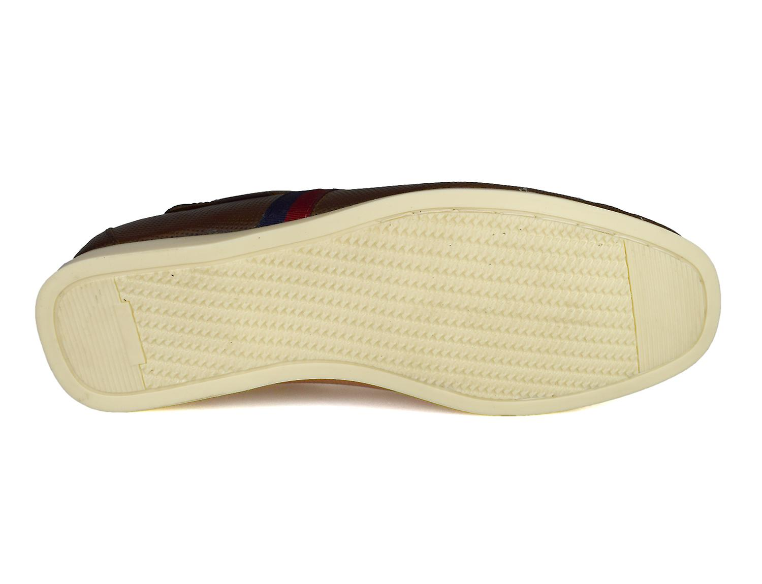 Red Tape Edward Mens Tan Leather Deck / Boat Shoes CDhUvN
