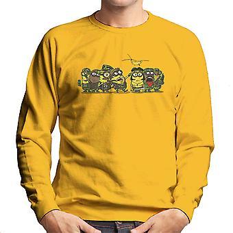 Minions Meat Grinder Platoon Men's Sweatshirt