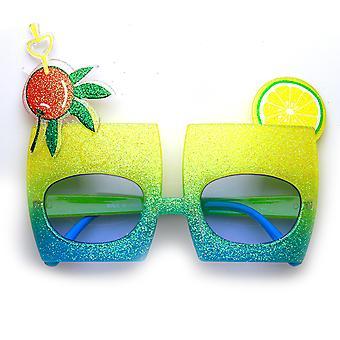 Cereza mezcla coctel bebida Favor fiesta celebración novedad gafas de sol