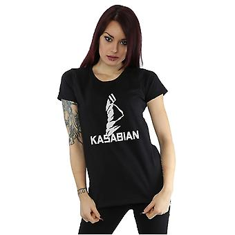 Kasabian Women's Ultraface Logo T-Shirt