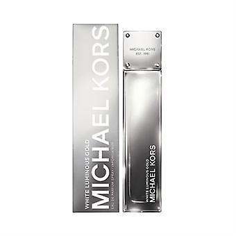 Leuchtende Weißgold von Michael Kors für Frauen 3,4 oz Eau De Parfum Spray