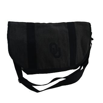 Gray Cotton University of Oklahoma Sooners Messenger Bag