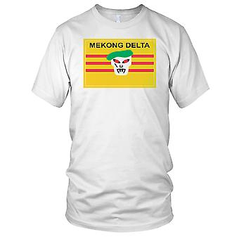 Mekong Delta Green Beret Special-Forces - Vietnamkrieg reinigen Effekt-Herren-T-Shirt