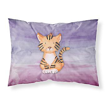 Tiger Cub akvarel stof Standard pudebetræk