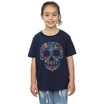 Disney Girls Coco Skull Pattern T-Shirt