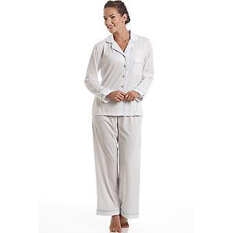 Camille Blue Polka Dot Pyjama Set