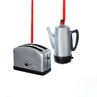 كورت أدلر وعاء القهوة من الفضة والرجعية محمصة تبدو مجموعة الحلي 2