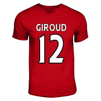 Olivier Giroud Arsenal Held-T-Shirt (rot)