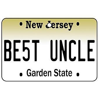 New Jersey - beste oom License Plate auto luchtverfrisser
