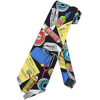 Doctor Profession NeckTie Medical Themed Mens Neck Tie