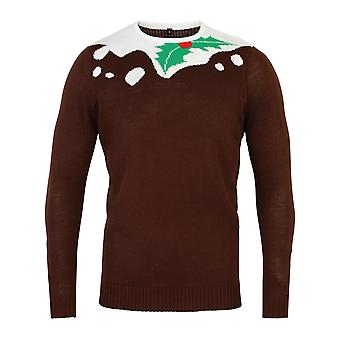 Christmas Shop Unisex Pudding Design jul Jumper
