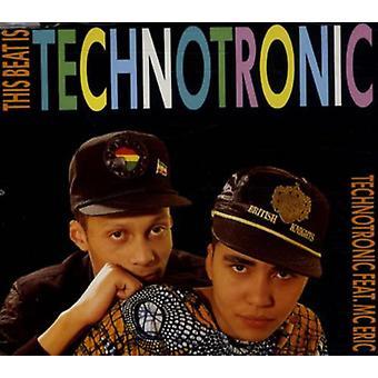 Technotronic - Beat Is Technotronic (5 Mixes) USA import