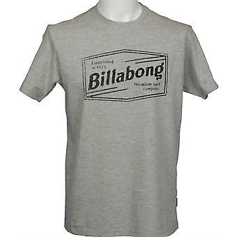 Billabong Men's Heather T-Shirt ~ Labrea grey