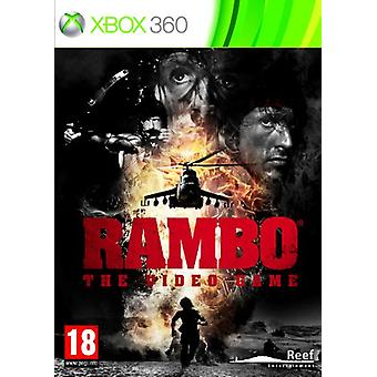 Rambo Das Videospiel (Xbox 360) - Fabrik versiegelt